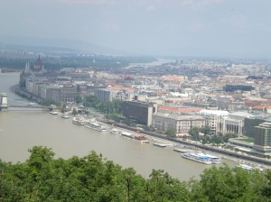 this is budapest..from the monument yard..