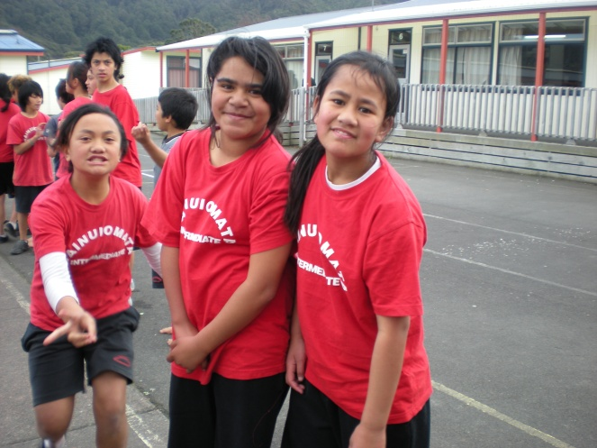 azalea..bronwyn..tokomaru during PE..