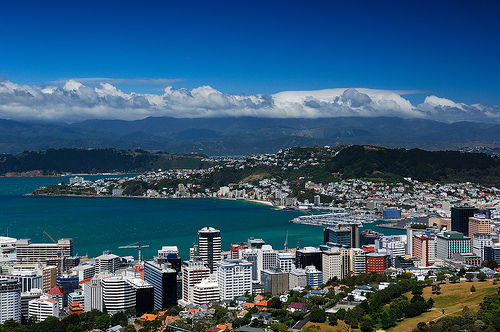 wellington city..